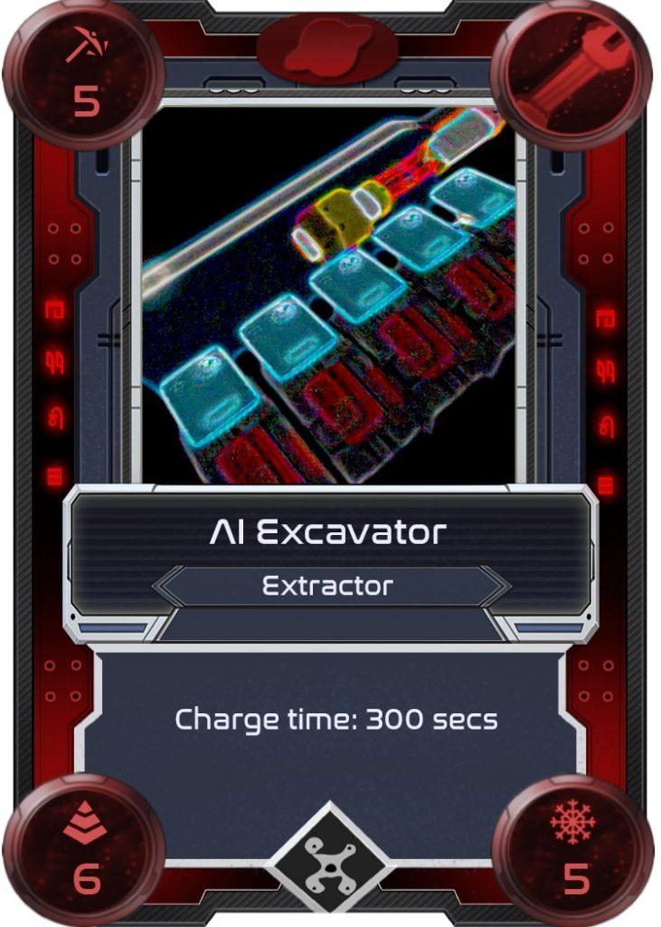 Excavadora AI de Alien Worlds