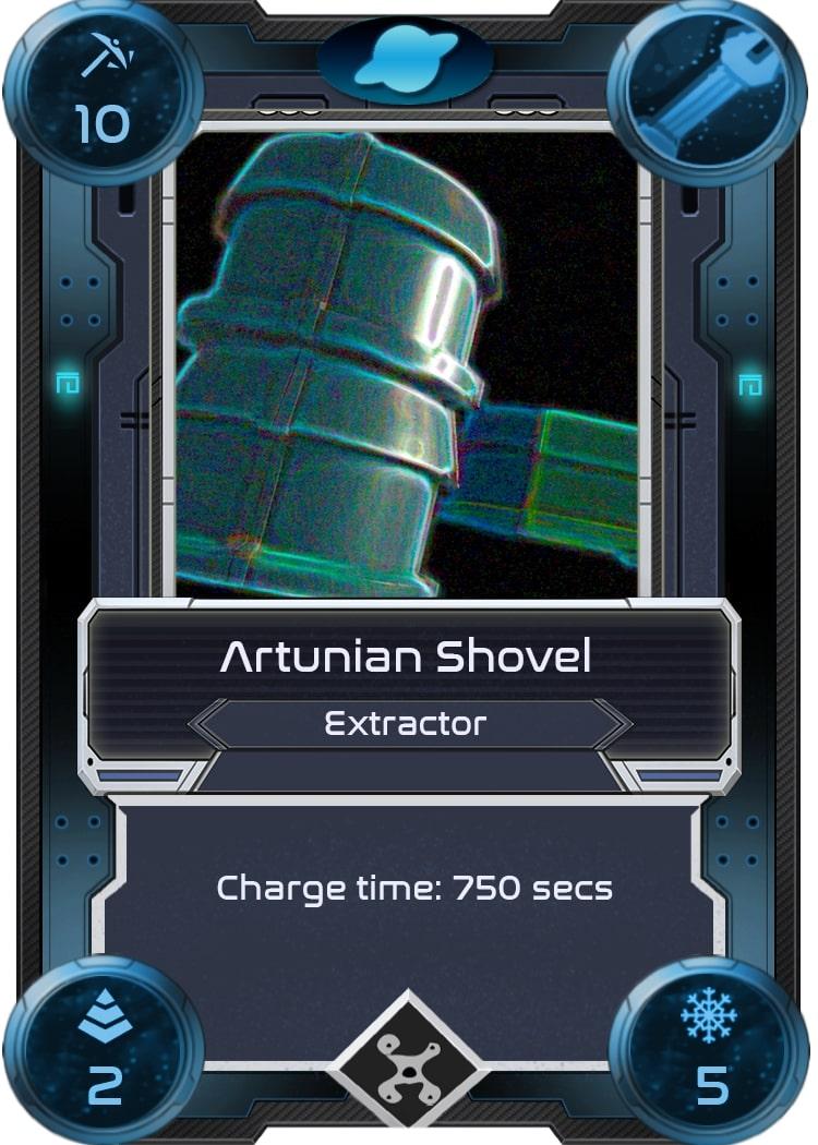 Alien Worlds Artunian Shovel
