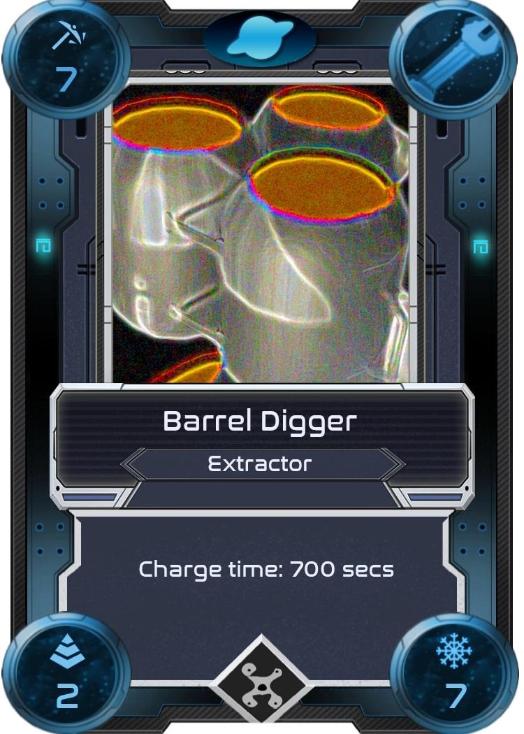 Alien Worlds Barrel Digger