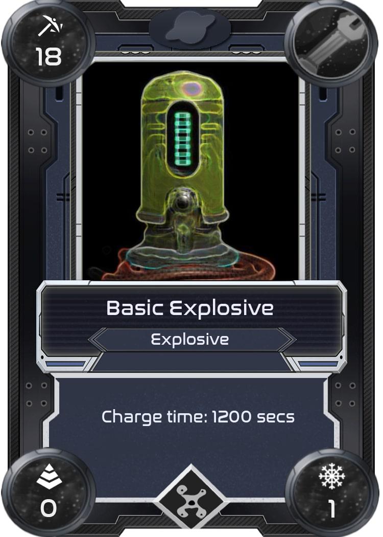 Alien Worlds Basic Explosive