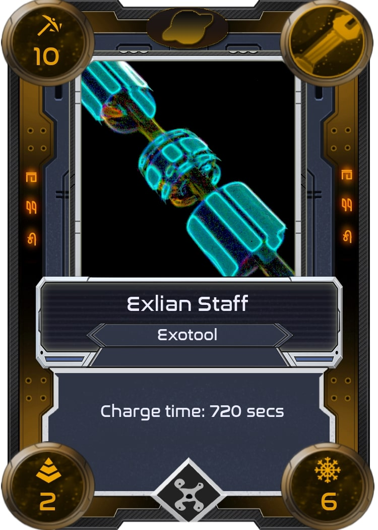 Alien Worlds Exlian Staff