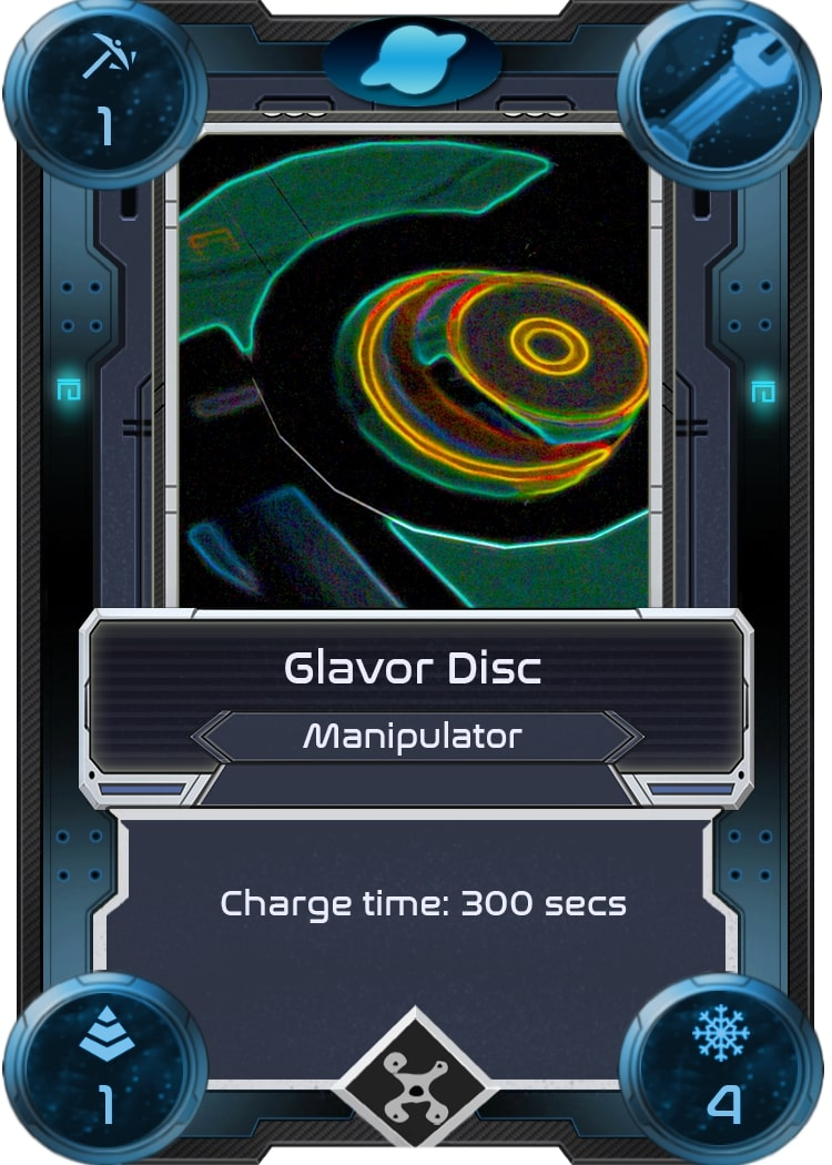 Alien Worlds Glavor Disc